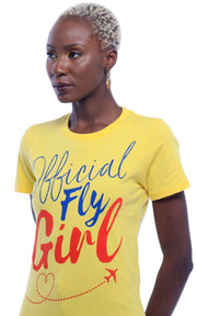 Official Fly Girl T-Shirt - Izzy & Liv - graphic tee