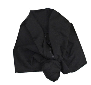 Satin-Lined Retie-able Headwrap/Turban [Five Colors]