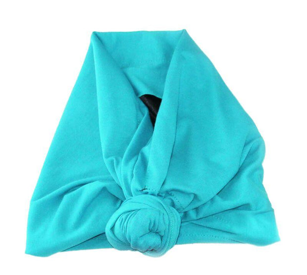 Satin-Lined Retie-able Headwrap/Turban [Five Colors] - Izzy & Liv - Headwrap
