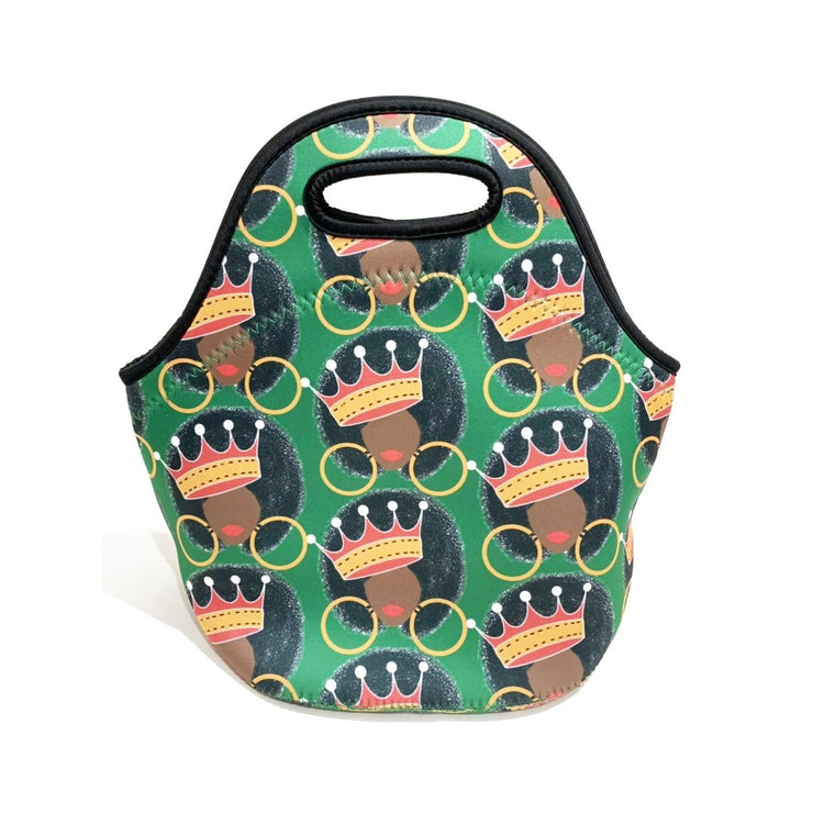 Queen Fro Lunch Tote