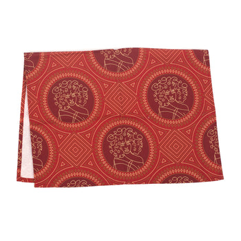 Glow On Girl Kitchen Towel or Placemat (burgundy)