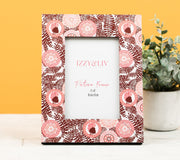 Chocolate Beauty (Blush) Picture Frame