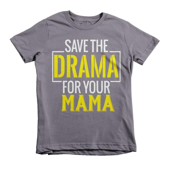 Save The Drama Youth Tee - Izzy & Liv - 1