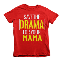 Save The Drama Youth Tee - Izzy & Liv - 3