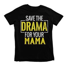 Save The Drama Youth Tee - Izzy & Liv - 4