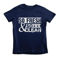 So Fresh & So Clean Youth Tee - Izzy & Liv - 1