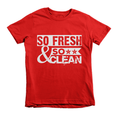 So Fresh & So Clean Youth Tee - Izzy & Liv - 3