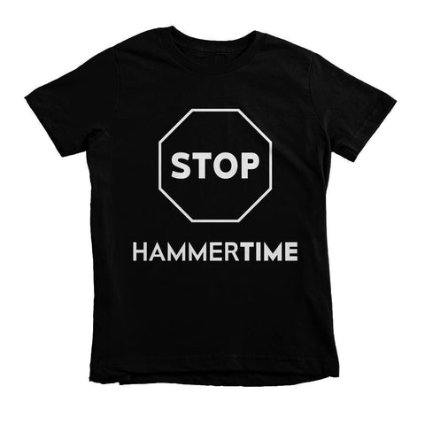 STOP Hammertime Youth Tee - Izzy & Liv - 1