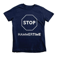 STOP Hammertime Youth Tee - Izzy & Liv - 2