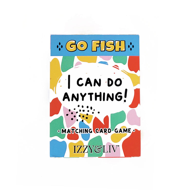 I Can Do Anything Go Fish Card Game