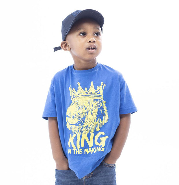 King In The Making Boys T-Shirt