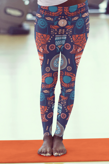 Tribal Goddess Stretch Leggings
