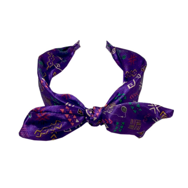 Little Culture Queen Bow Headband