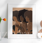 Living Single Printable Art