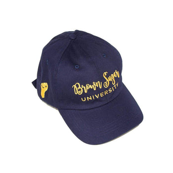 Izzy & Liv Satin-Lined Brown Sugar University Hat (2 Colors)