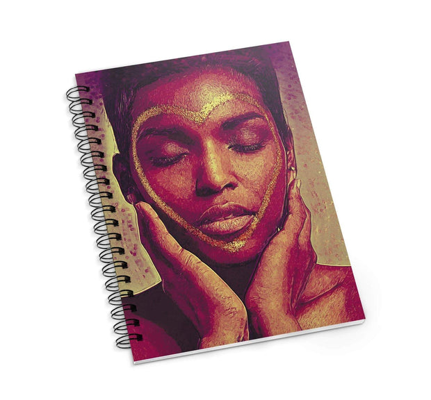 Melanin Love Journal OR Notebook - Izzy & Liv - notebook