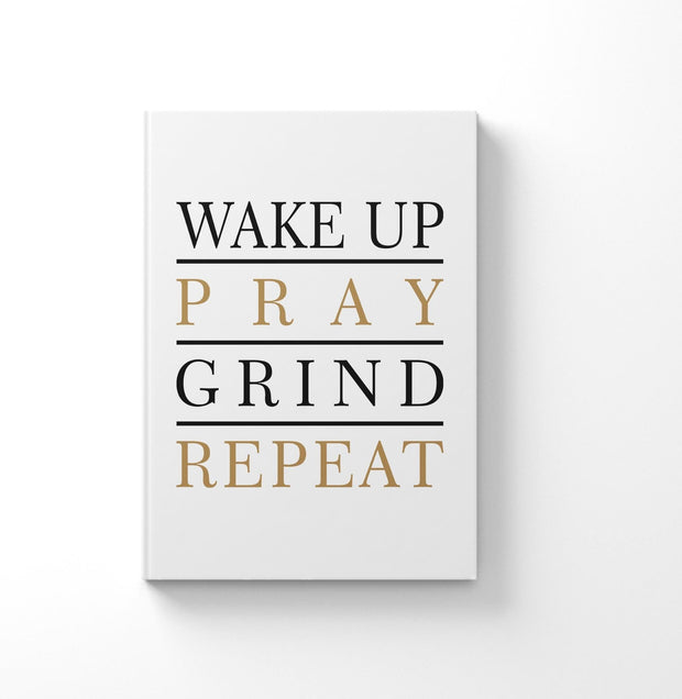 Notebook - Wake Up Pray Journal OR Notebook