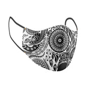 Paisley Beauty Facial Covering w/Adjustable Straps (Adults)
