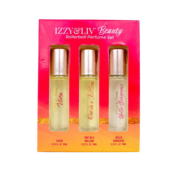 """Makes Perfect Scents"" Rollerball Perfume Trio 3-Pack Set"
