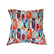Strike A Pose Throw Pillow Cover (Set of 2)