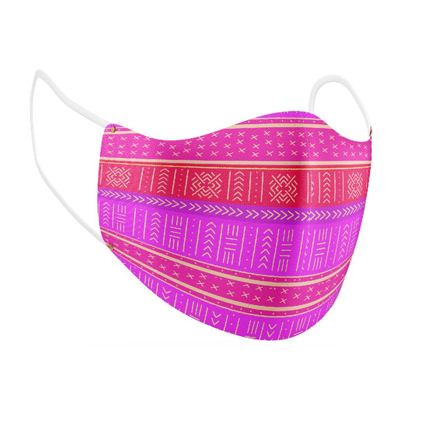 Pretty and Primed Facial Covering w/Adjustable Straps (Adults)