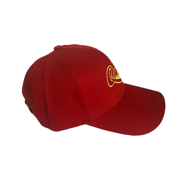 Queen Satin-Lined Hat (Red)