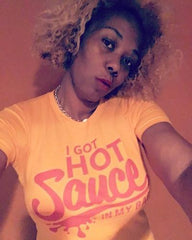 I Got Hot Sauce In My Bag (formation) T-Shirt - Izzy & Liv - crew neck
