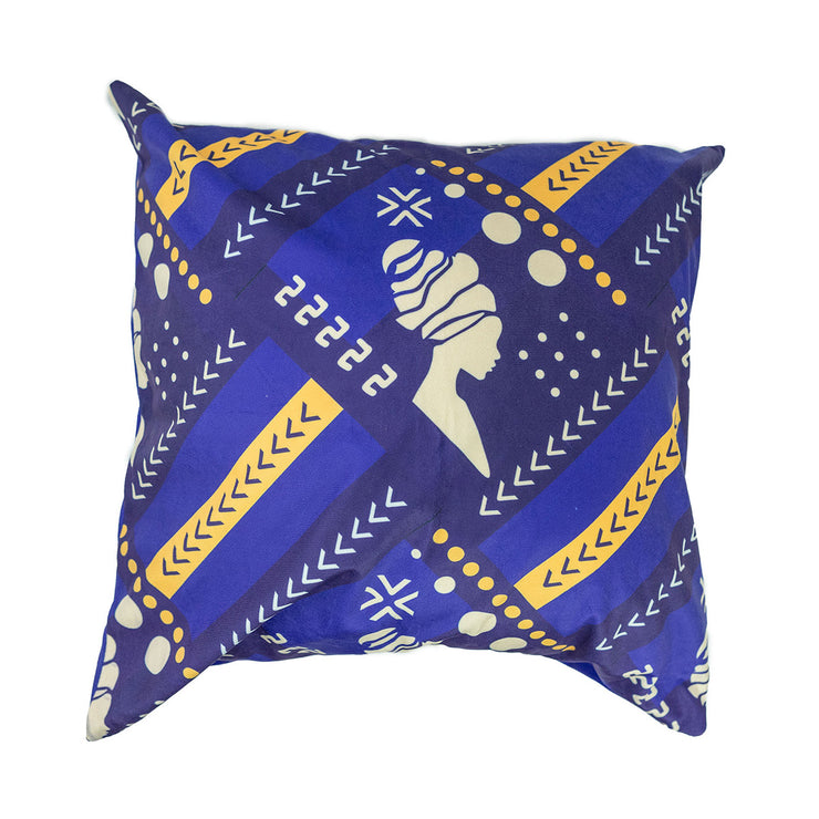 Royal Symmetry Throw Pillow Cover