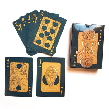 Black Royalty Playing Cards