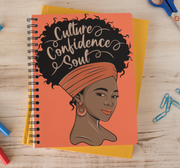 Culture Confidence Soul Notebook