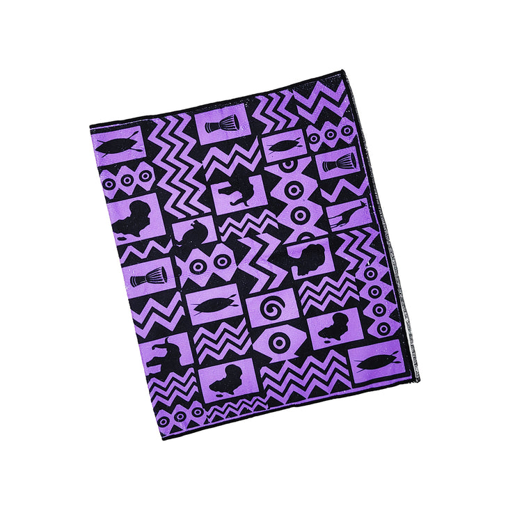 Tribal Love (Lavender) Gym Towel