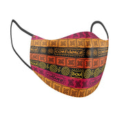 Tribal Treasures Facial Covering w/Adjustable Straps (Adults)