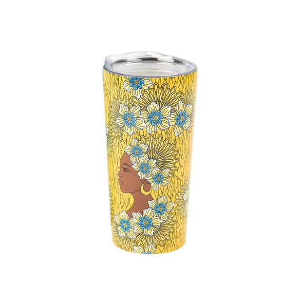 "Golden Brown Sugar ""Sip in Peace"" Hot/Cold Tumbler"