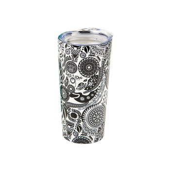 "Paisley Beauty ""Sip in Peace"" Hot/Cold Tumbler"