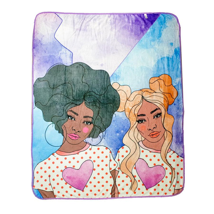 Izzy & Liv - OMG! BFF! Fleece Blanket