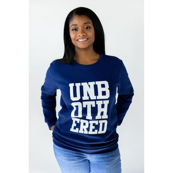 Unbothered Sweatshirt (Navy)