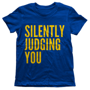 Silently Judging You Youth Tee