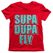 Supa Dupa Fly Youth Tee - Izzy & Liv - kid tee