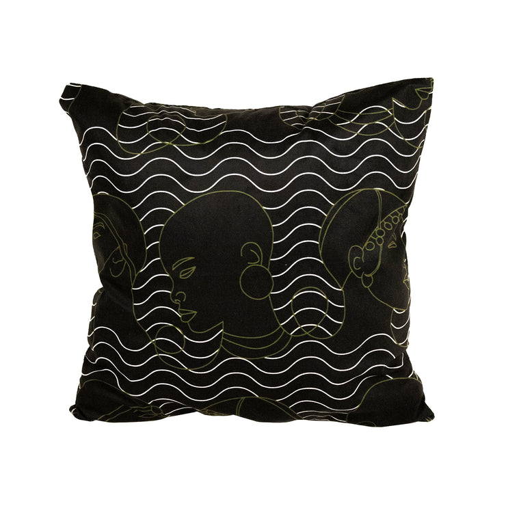 Warrior Empress Throw Pillow Cover