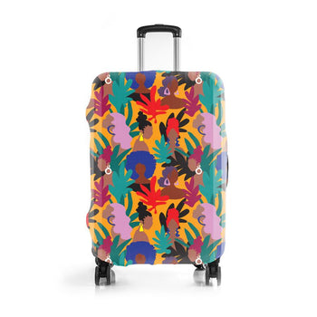 Culture Queens 2-Pack Luggage Cover Set