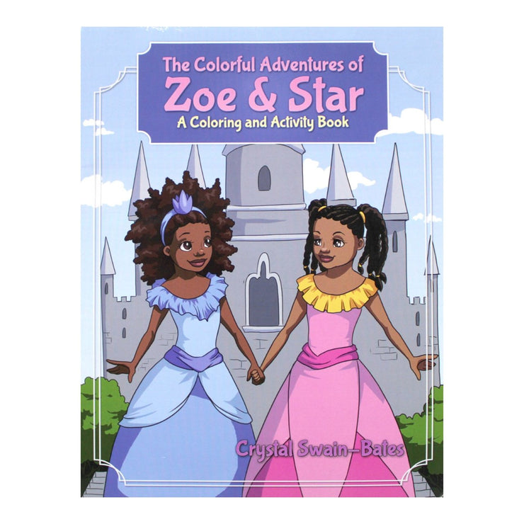The Colorful Adventures of Zoe & Star Activity Book