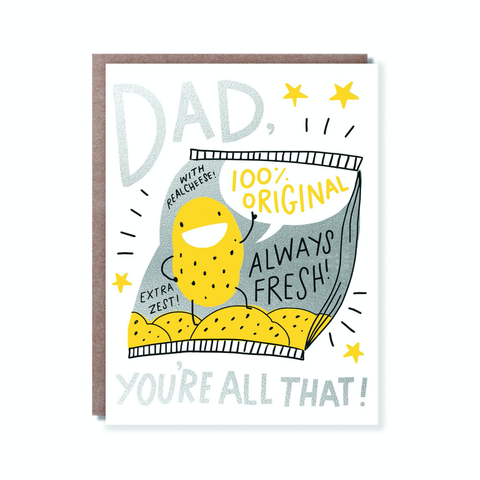 Hello Lucky Dad's All That Card