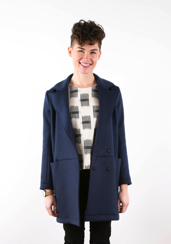 The Yates Coat Sewing Pattern by Grainline Studio (Printed)