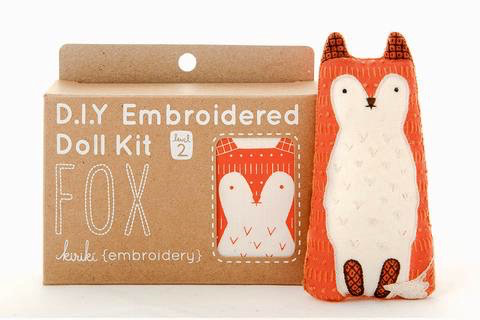 Kiriki Press Fox Embroidery Kit