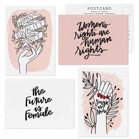 Dahlia Press Women Take Action Postcard Set (8 ct)