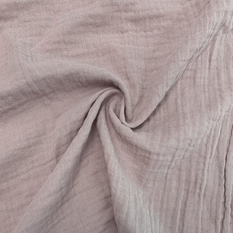 Organic Cotton Double Gauze Blush 51""