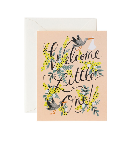 Rifle Paper Co. Classic Baby Card