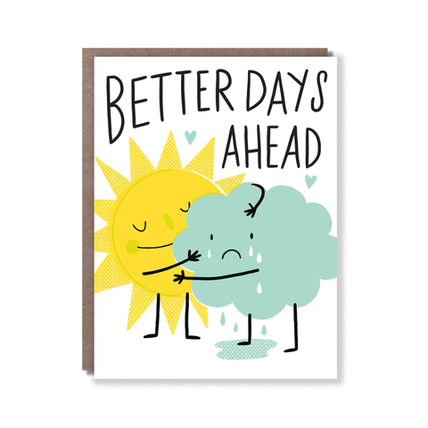 Hello Lucky Better Days Ahead Card