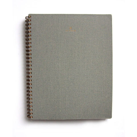 Appointed Lined Notebook Dove Gray