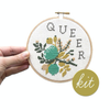 Junebug and Darlin Queer Cross Stitch Kit
